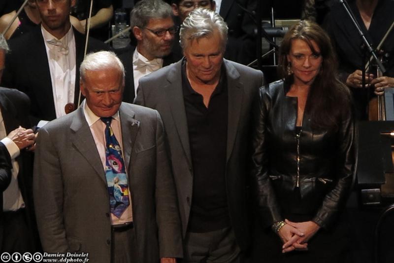 Buzz Aldrin était à Paris ce 11 octobre 2012 au Festival Jules Verne Grand Rex  IMG_1483