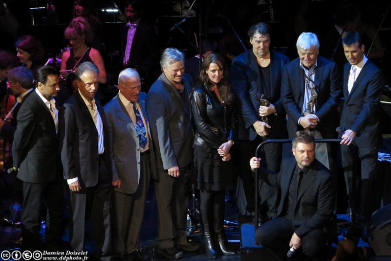 Buzz Aldrin était à Paris ce 11 octobre 2012 au Festival Jules Verne Grand Rex  IMG_1507